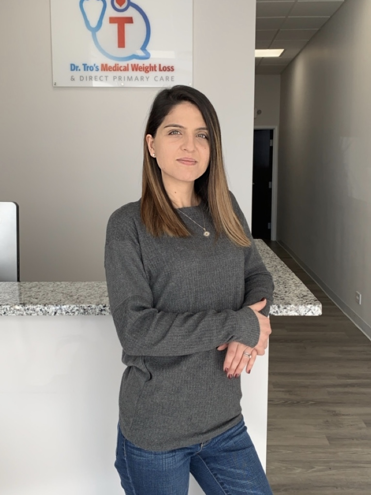 Taline Boyadzhyan will serve as weight loss coach at Dr. Tro's Medical Weight Loss & Direct Primary Care practice in Tappan, NY.